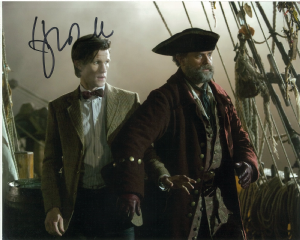 Hugh Bonnevile,  Doctor Who, Genuine signed 10x8 autograph  10516